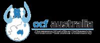 OCF australia globe logo transparent background